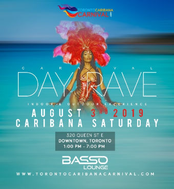 Carnival Day Rave | Day Party | Indoor & Outdoor | Caribana Saturday 2019