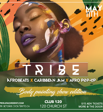 TRIBE - Body Painting Show Edition
