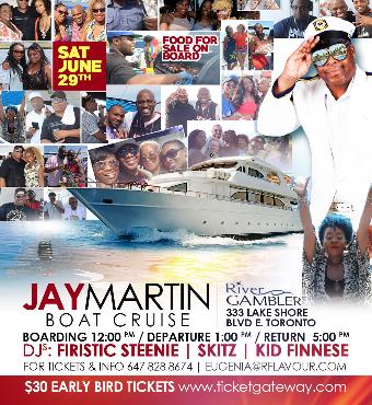 Jay Martin Boat Cruise