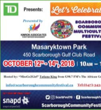 TD Presents : Scarborough - Toronto Community Multicultural Festival