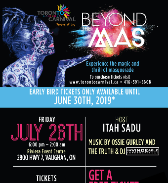 Beyond The Mas - A Celebration of Freedom