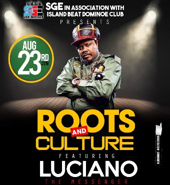 ROOTS AND CULTURE featuring LUCIANO live in concert