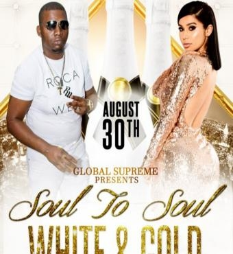 Global Supreme - Soul to Soul - White And Gold