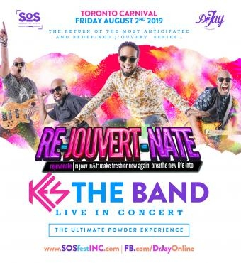 RE JOUVERT NATE | SOS FEST and Dr JAY | KES THE BA...