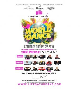 WORLD DANCE 2019 | Caribana | Carnival Saturday