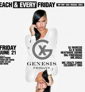 Genesis Fridays @Boss Club