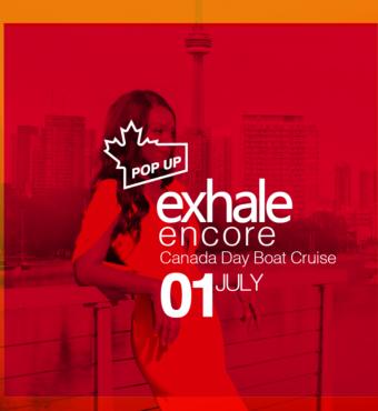 Exhale Encore Champions Pop Up