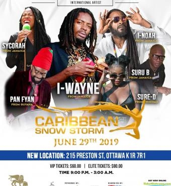 Caribbean Snow Storm - The Ultimate ALL White Event