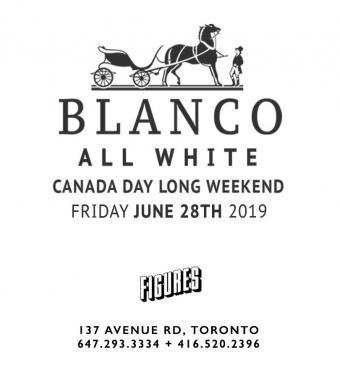 Blanco - All White - Canada Day