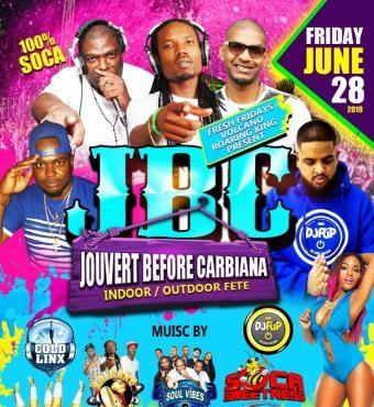 Fresh Fridays - Jouvert Before Caribana @ Calypso Hut (Brampton)