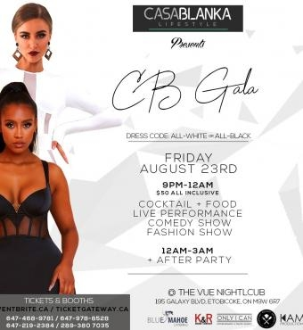 CB GALA (ALL-BLACK or All-WHITE AFFAIRS)