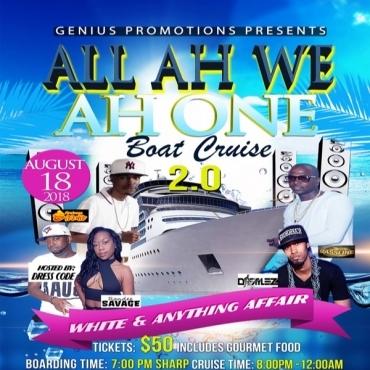 All Ah We Ah One Boat Cruise 2.0