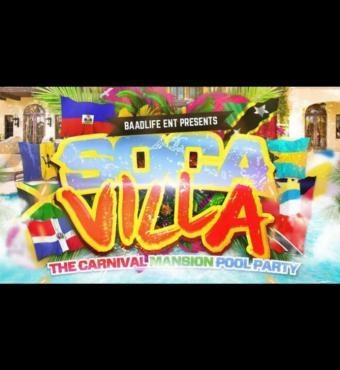 Soca Villa The Miami Carnival Mansion Pool Party 2019 | Tickets Fri 11 Oct