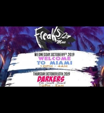 Freaks Mas  Miami Carnival 2 Day Event Pass 2019 | Tickets 9 Oct