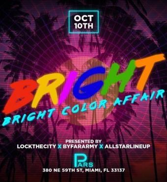 Bright Color Affair Miami Carnival 2019 |  Tickets 10 Oct