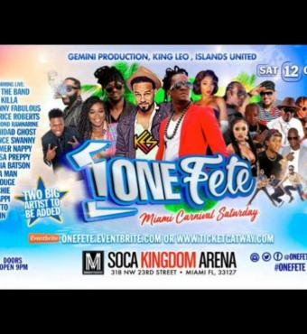 One Fete - Miami Carnival 2019