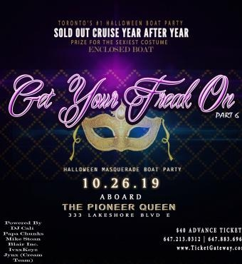 Get Your Freak On Part 6 Halloween Masquerade Enclosed Boat Party
