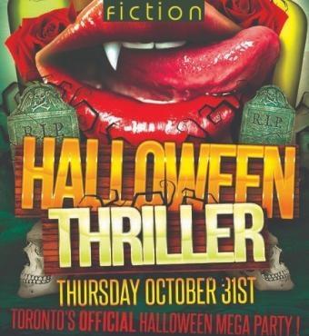Halloween Thriller 2019 @ Fiction Nightclub | Toronto's Official Halloween