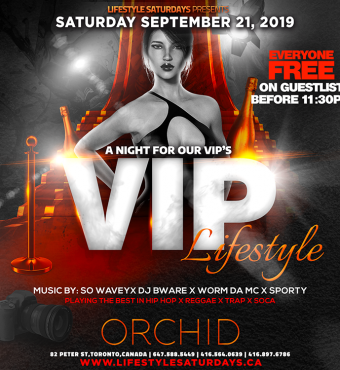 LIFESTYLE SATURDAYS : VIP LIFESTYLE