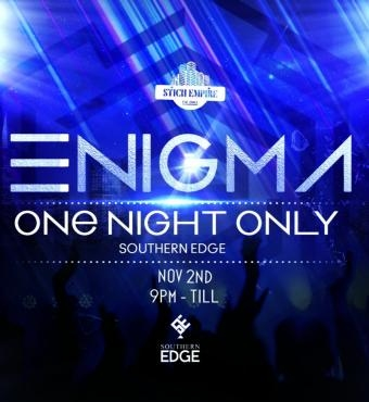 ENIGMA ONE NIGHT ONLY