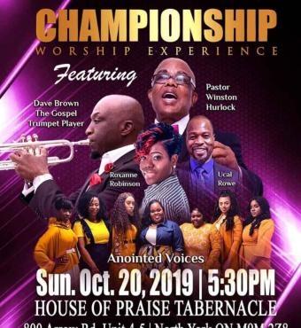 Championship Worship Experience