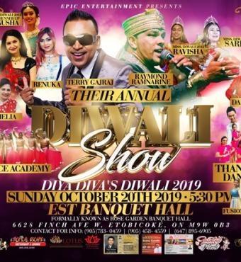 The Annual Diwali Show - Diya Diva's 2019