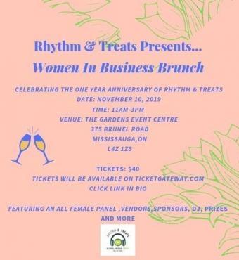 RHYTHM & TREATS PRESENTS: WOMEN IN BUSINESS BRUNCH