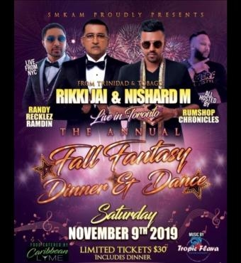 Fall Fantasy - Dinner And Dance 2019