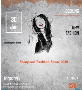 Sampson Fashion Show/Network Event