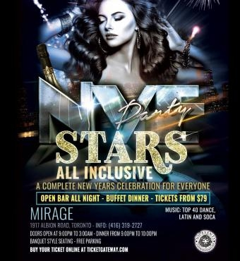 Stars New Years, All Inclusive