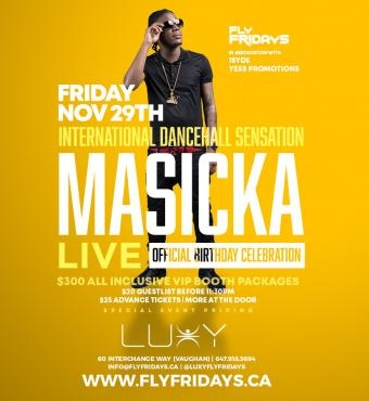 Masicka Live & Birthday Celebration