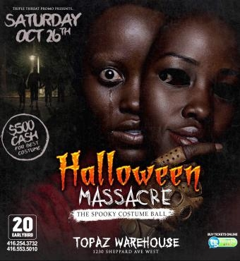 Halloween Massacre (Costume Party)