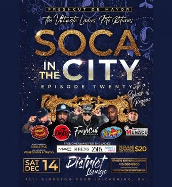 SOCA IN THE CITY Episode 20