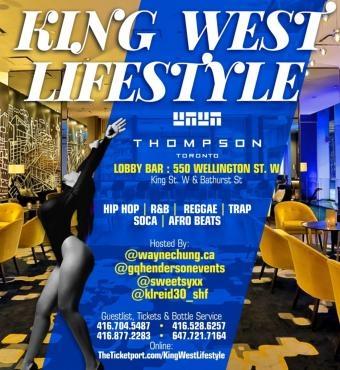 King West Lifestyle Christmas Edition Thompson Hotel Lobby Bar
