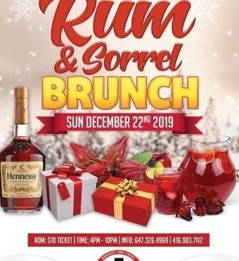 Rum And Sorrel Brunch
