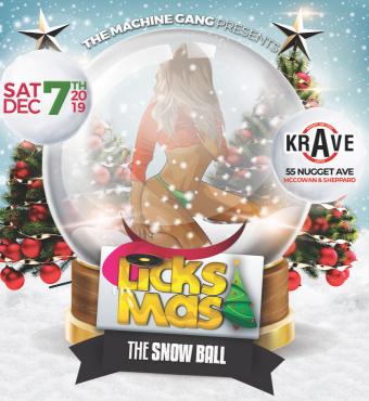 Licksmas 2019 - The Snow Ball - 8 Year Anniversary