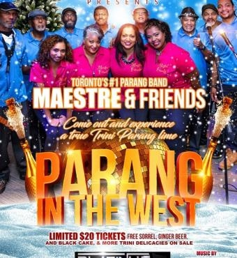 Parang In The West -  Maestre and Friends