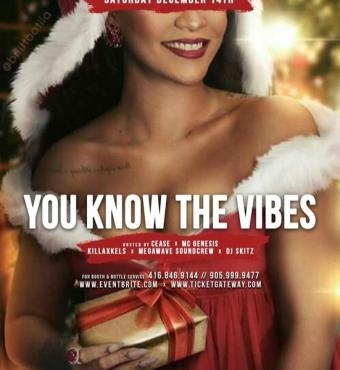 You Know The Vibes - CHRISTMAS PARTY