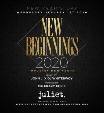 NEW BEGINNINGS 2020 @JULIET