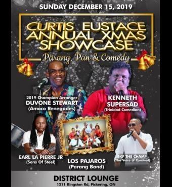 Curtis Eustace Annual Xmas Showcase