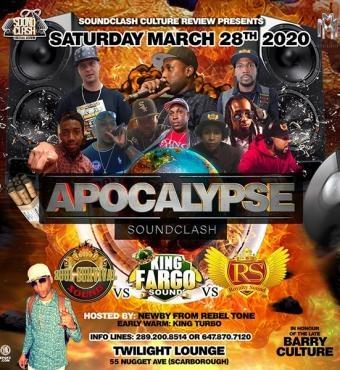 Apocalypse - Sound Clash