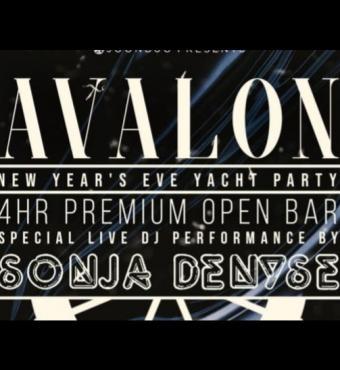 Avalon Yacht New Years Eve 2020 | New York