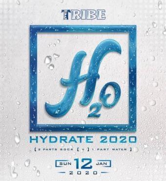 Tribe H2O Hydrate 2020 Trinidad