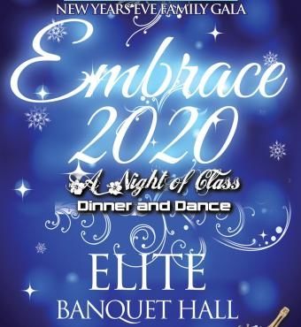 Embrace 2020 - New Years Eve Gala