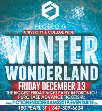 END OF EXAMS PARTY @ FICTION NIGHTCLUB | FRIDAY DEC 13TH