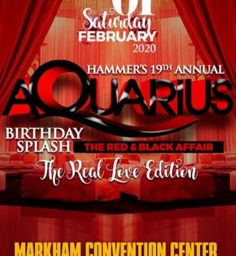 Hammer's 19th Annual Aquarius - Birthday Splash