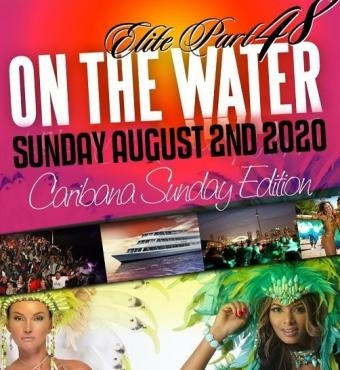 Elite Caribana Sunday  2020 Boat Ride | Toronto