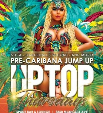 Up Top Thursday: 2020 Pre-Caribana Jump Up