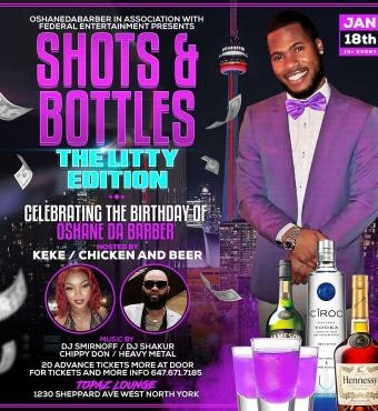 Shots and Bottles: The Litty Edition