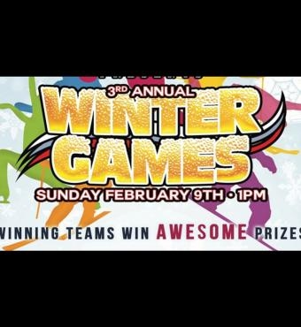 3rd Annual Winter Games With Harpoon Brewery